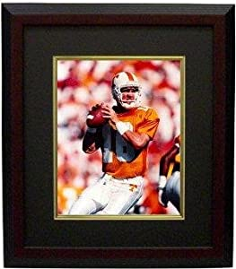 Peyton Manning unsigned Tennessee Vols 8x10 Photo Custom Framed - College Photos
