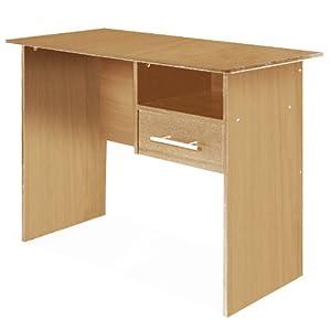 JIMBO - escritorio para ordenador en imitacion de roble claro - BebeHogar.com