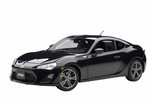 scion-fr-s-north-american-style-left-handle-crystal-black-silica-diecast-model-by-autoart