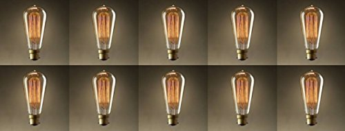 50 x 40w Frosted Pearl Opal GLS Light Bulb BC Push In B22 Or ES Screw In E27