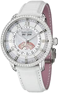 Maurice Lacroix Masterpiece Ladies Phase du Lune Diamonds - Valentine's Special by Maurice Lacroix