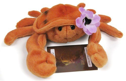 Hawaiian Hihe'e Crab Plush Collectible Toy