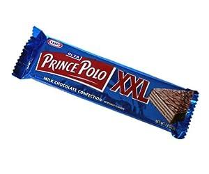 Kraft Olza Prince Polo XXL Milk Chocolate Bar (52g/1.8oz) Pack of 10