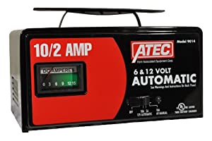 Associated Equipment 9014 ATEC 6/12V 10/2 Amp Automatic Charger