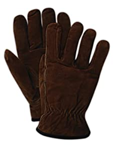 Magid TB482ET-M Men's Pro Grade Collection Thinsulate-Lined Suede Gloves, Medium