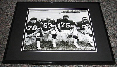 The Steel Curtain Steelers Framed 8x10 Photo Green Greenwood Holmes White at Amazon.com