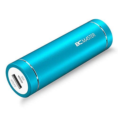 BC Master Mini 5000mAh Batería Externa Portátil Cargador power bank Gran Capacidad para smartphone iPhone 6S, 6, 6Plus, iPad Air 2, Mini 3, Galaxy S6, S6 Edge, Edge+, Note 5 y Más (Azul)