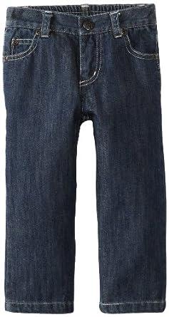 KicKee Pants Baby-Boys Infant Boy Boot Cut Jean, Winter Design, 18-24 Months
