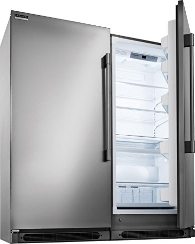 Frigidaire Professional Series Built-In All Refrigerator, All Freezer Combo with Easy Care Stainless (FPFU19F8RF_FPRU19F8RF) (Refrigerators Built In compare prices)