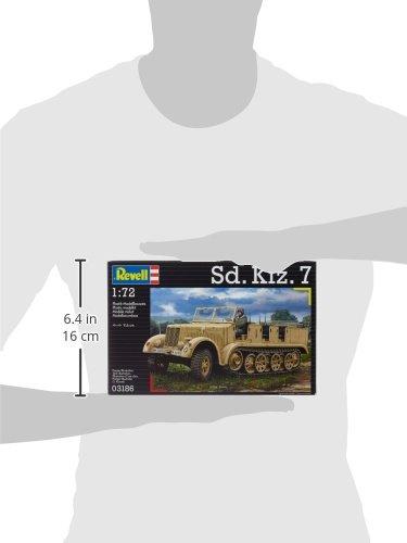 Revell-03186-Modellbausatz-SdKfz-7-im-Mastab-172