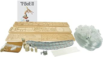 Pitsco Laser-Cut Basswood T-Bot II - Getting Started Package (For 20 Students in Pairs)