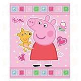 Acquista Coperta plaid in pile Peppa Pig