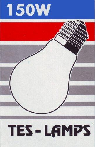 1x TESLAMP Glühlampe AGL / 150W / 230 V / E27 / klar