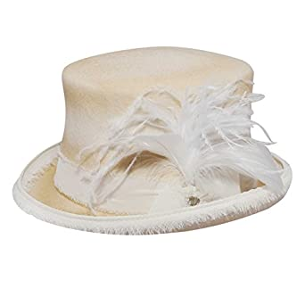 Bailey Western Mens Renegade By Bailey® Vivienne Top Hat Cream Xl