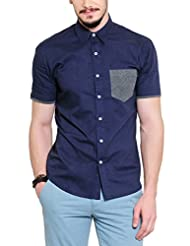 Yepme Men Solid Cotton Shirt  YPMSHRT0382