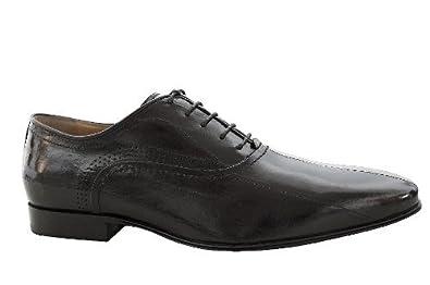 Nero giardini scarpe uomo classiche eleganti cerimonia anguilla nero lacci colore nero 43 - Scarpe eleganti da cerimonia nero giardini ...