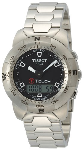 TISSOT Watch:Men's T-Touch Touchscreen Stainless Steel Images