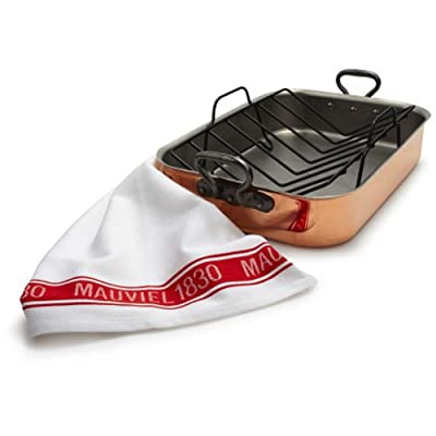 Mauviel M'heritage 150c Roasting Pan with Rack 6018.40 , Copper