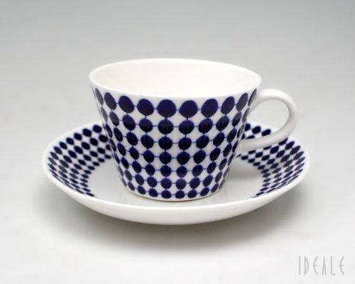 グスタフスベリ(Gustavsberg) アダム ADAM 491-06 コーヒーカップ&ソーサー 【復刻版】【並行輸入品】