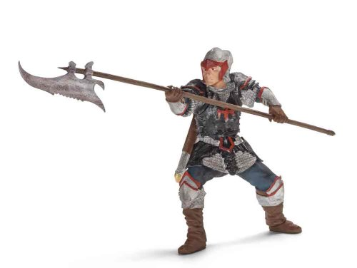 Schleich Dragon Knight Action Figure with Pole-Arm - 1