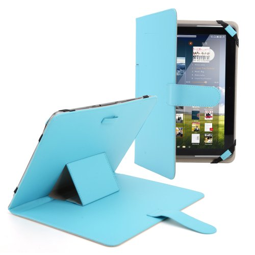 Blau Tasche case cover Etui Stand für 10″ Android Tablet PC Epad aPad Schutzhülle Etui, 10″ 10.1″ 10.2″ Tablet PC case, Universal Für Epad, Apad, Android MID ASUS EeePAD TRANSFORMER TF300, TF201, Archos 101 tablet pc, 10″ Advent Vega tablet pc,10 Zoll Blackberry Player book, 10″ E reader book, Acer ICONIA A500 A501, Motorola XOOM MZ601 10″ Advent Vega, 10″1 Archos G9 101 Turbo, Samsung Galaxy TAB 10.1 P7510/7500,Samsung Galaxy 10.1 Tab2 P5100 P5110,Samsung Galaxy Note 10.1 N8000, Acer ICONIA A500 A501, Motorola XOOM MZ601 10.1 Universal Schutzhülle Rezessionen