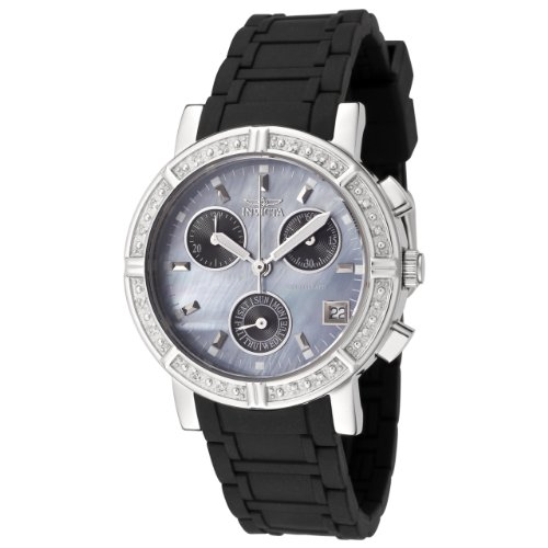 Invicta Women's 0730 Wildflower Collection Diamond Accented Polyurethane Watch