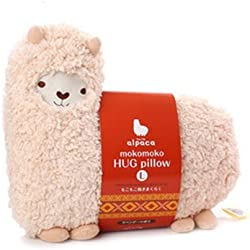 Aunt Merry Mokomoko Llama Alpaca Hug Pillow