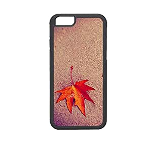 Vibhar printed case back cover for Apple iPhone 6 Plus DesertedLeaf