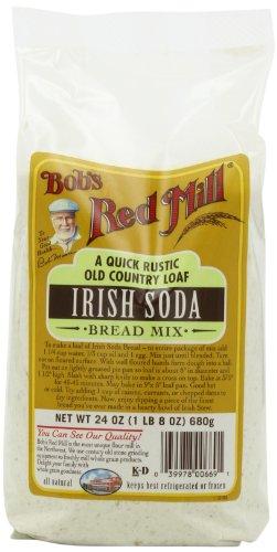 Bob's Red Mill Bread Mix Irish Soda, 24-Ounce (Pack of 4)