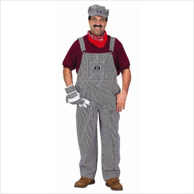 Adult Train Engineer Suit Costume Size: LargeAdult Train Engineer Suit Costume Size: Large
