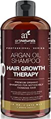 Art Naturals Organic Argan Oil Hair Loss Shampoo for Hair Regrowth 16 Oz – Sulfate Free – Best…