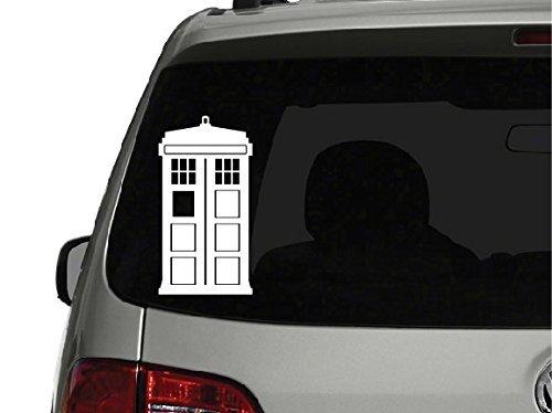 "Doctor Who Tardis Car Window Vinyl Decal Sticker 5"" Tall | Keen150"