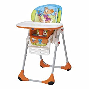 Chicco Polly Highchair (Wood Friends)