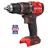 CRAFTSMAN V20 1/2-in 20-volt Max Variable Speed Brushless Cordless Hammer Drill (Battery Not Included)