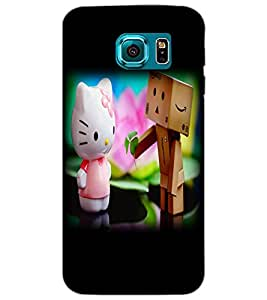 SAMSUNG GALAXY S6 CUTE CARTOON Back Cover by PRINTSWAG
