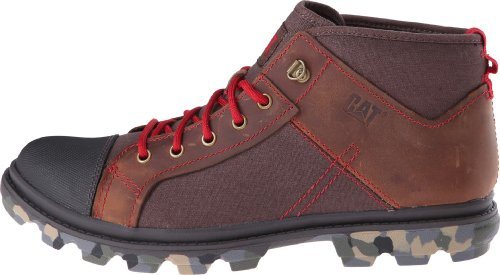 pictures of Caterpillar Men's Runyan Mid Chukka Boot,Brown,10.5 M US