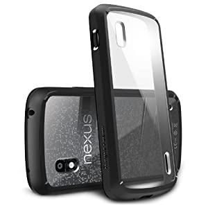 Black - Google Nexus 4 Ringke Fusion The Best Selling Premium Hybrid Hard Case [Eco Package]