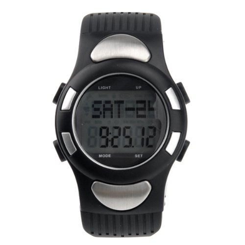Pixnor® All-in-one Digital Heart Rate Wrist Watch with Pedometer /Alarm /Calendar /Calorie Counter /Stopwatch /EL Backlight