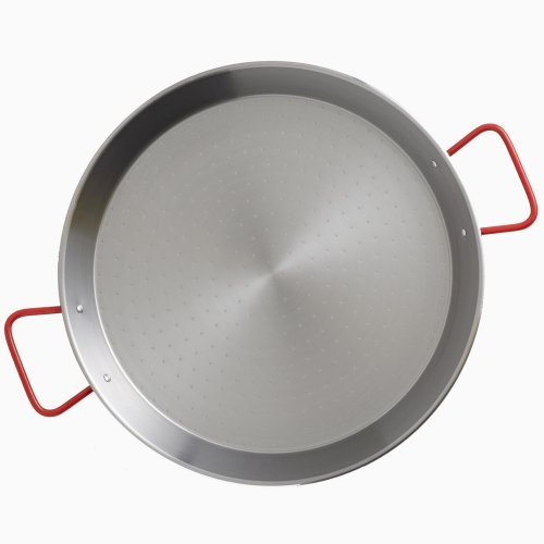 Garcima Carbon Steel Paella Pan - 34cm/13.5 inches