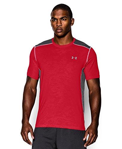 Under Armour Men's UA Raid Short Sleeve T-Shirt Small Red