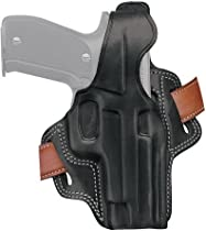 Galco Fletch High Ride Belt Holster for S&W M&P 9/40 (Black, Right-hand)