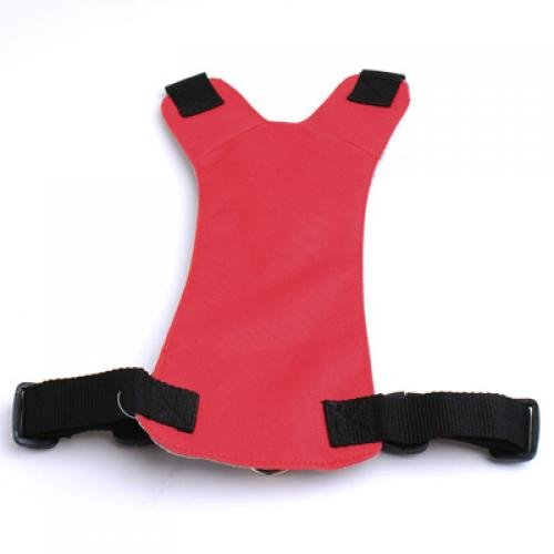 Red Universal Fit Car Vehicle Dog Pet Seat Safety Belt Harness Chest 42cm - 56cm