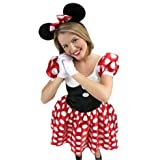 rubies 888584 costume minnie disney - taglia m