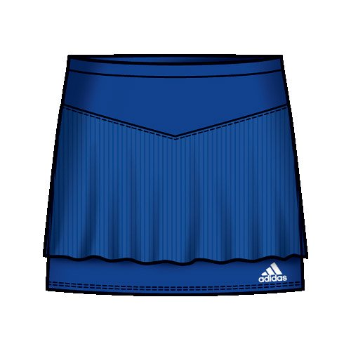 Girls' adidas Ad Climalite Tennis Skort - Age 6 (XS)