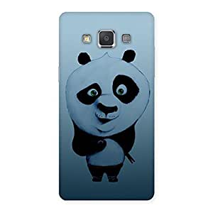 Delighted Panda Puzzled Multicolor Back Case Cover for Galaxy Grand 3