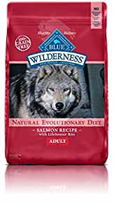 Blue Buffalo Wilderness Adult Dog Salmon Formula - Grain Free 24 lb