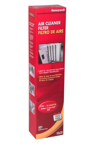 Honeywell CF2400A1001/W 4-Inch High-Efficiency Collapsible Air Cleaner Filter