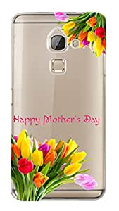 WOW Transparent Printed Back Cover Case For LeEco Le Max 2
