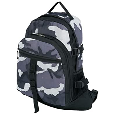 Extreme Pak? Black and Gray Urban Camouflage Backpack