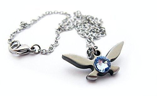 Zelda Navi Necklace - The Original - Handmade - Length 18in